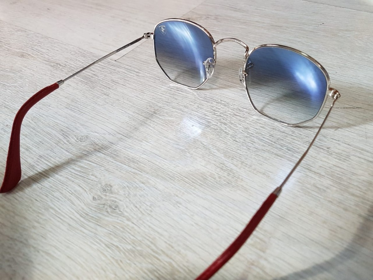 569a4fe9c2 Cargando zoom... 4 lentes ray ban rb3548nm scuderia ferrari collection azul