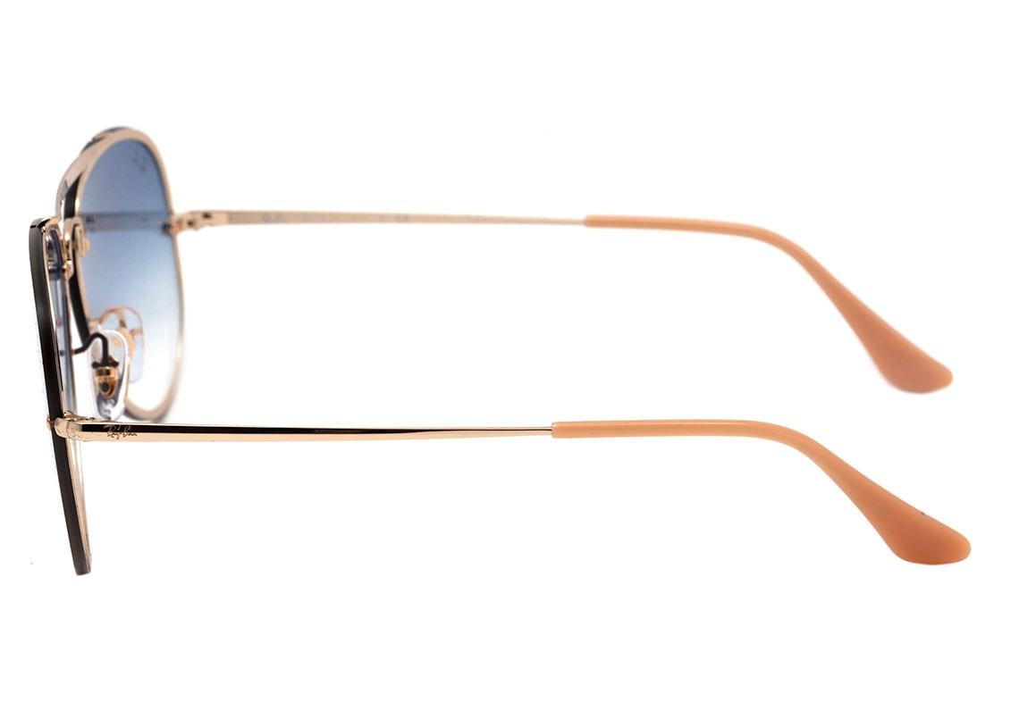 Carregando zoom... óculos ray ban aviador blaze rb 3584 001 19 61 azul  original b261acda70