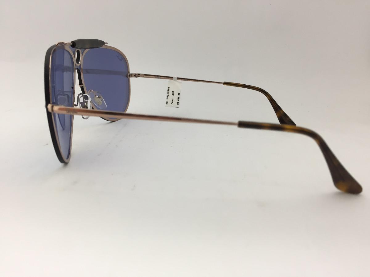 8a1087faec1 Carregando zoom... oculos solar ray ban rb3581-n 9035 1u 140 blaze cllection