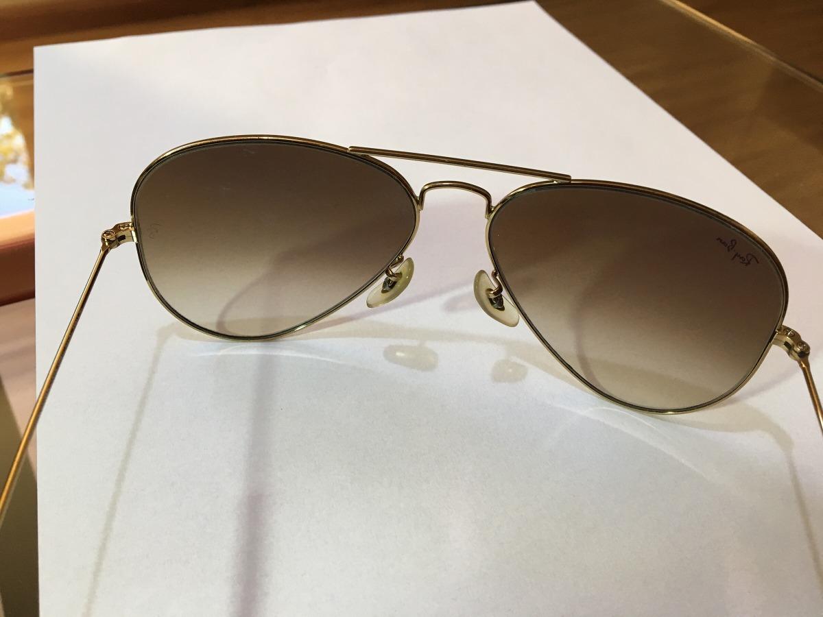 3787d4d024a9e Óculos Ray Ban Aviador Original - R  270