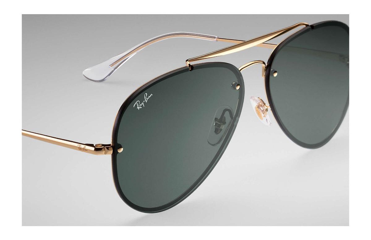 cc6cb675141a0 Carregando zoom... óculos ray ban aviador blaze rb 3584 9050 71 61 -  original