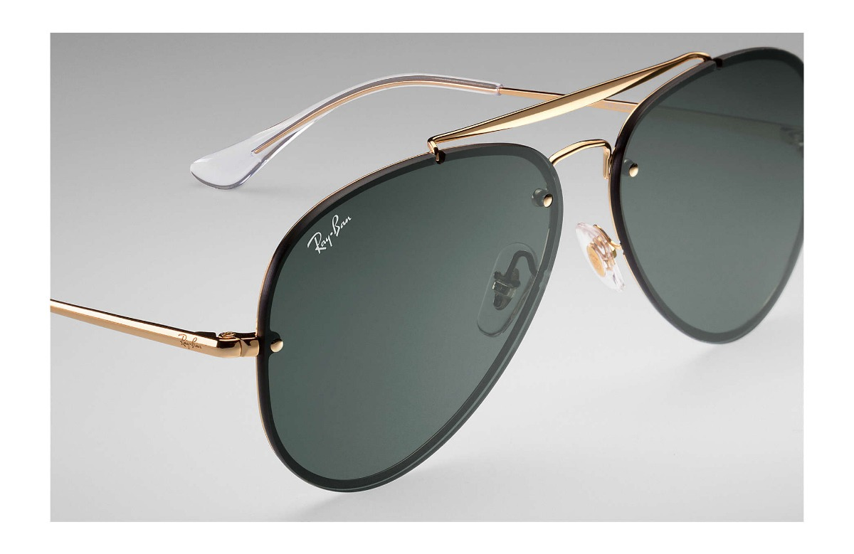 Carregando zoom... óculos ray ban aviador blaze rb 3584 9050 71 61 -  original 980974b050