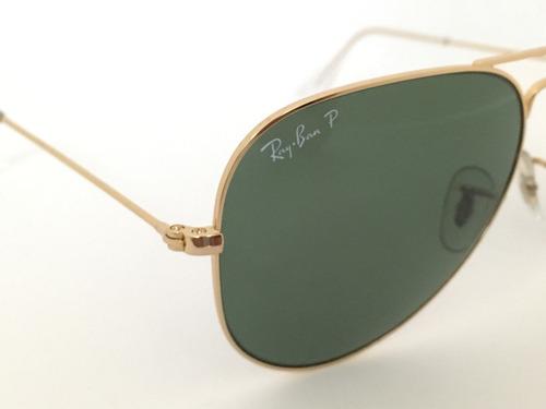 ray ban óculos. Carregando zoom... óculos ray ban aviador rb3025001 58  polarizado 100% original a4df7088e2