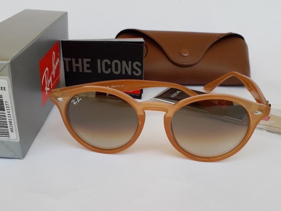 aa7ae139ac3a4 Carregando zoom... oculos de sol ray ban rb2180 round unissex oferta  promocao