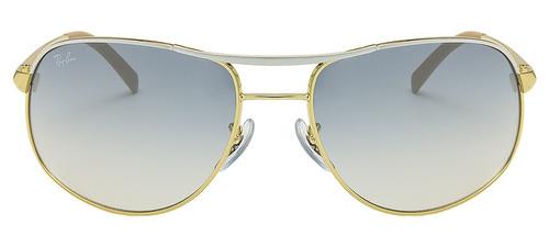 46836db00ff34 ... rb3387 dourado espelhado tam 67 raro · óculos sol ray ban · ray ban  óculos sol