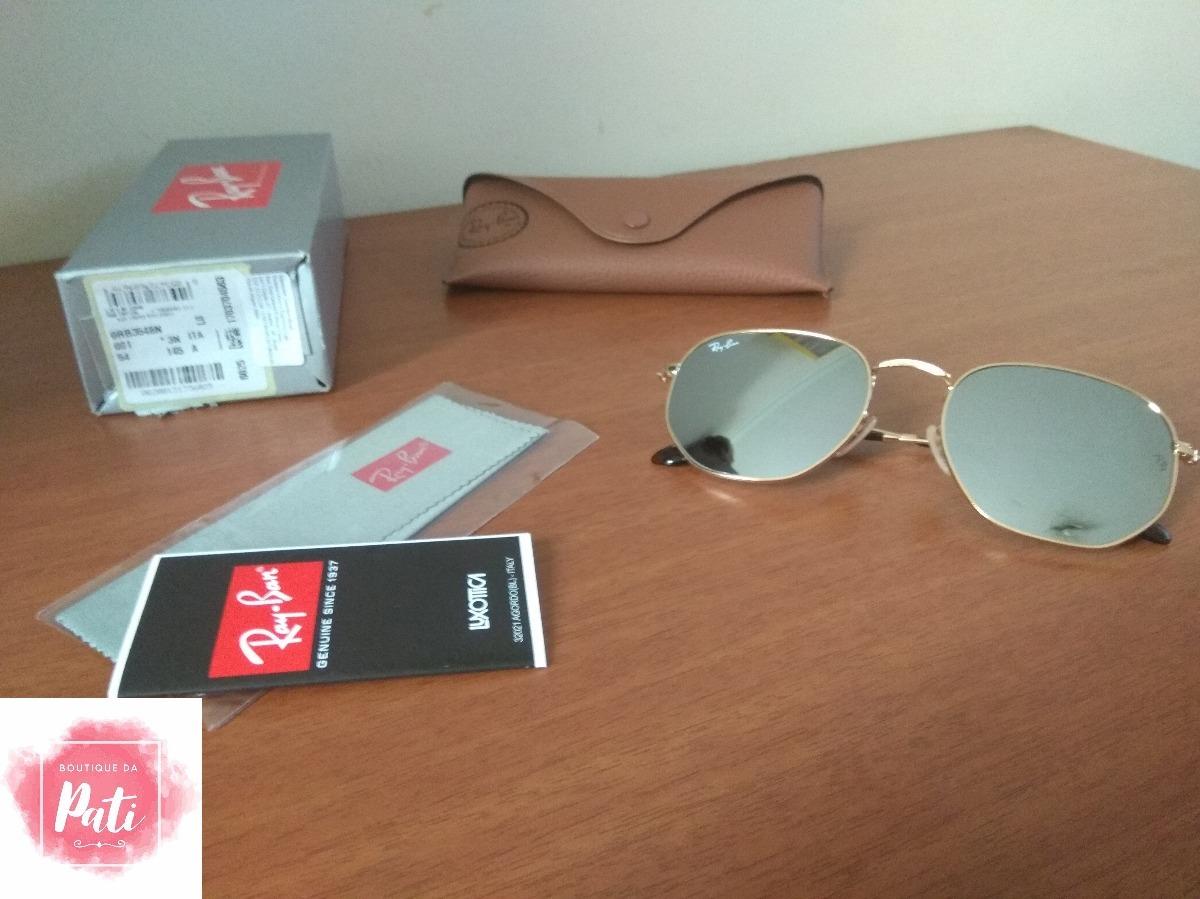 Carregando zoom... óculos de sol ray ban 3548 hexagonal barato varias cores 7ec7efc633