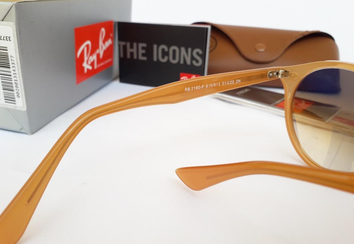 7ff1016d6745e Oculos De Sol Ray Ban Rb2180 Round Unissex Oferta Promocao - R  198 ...