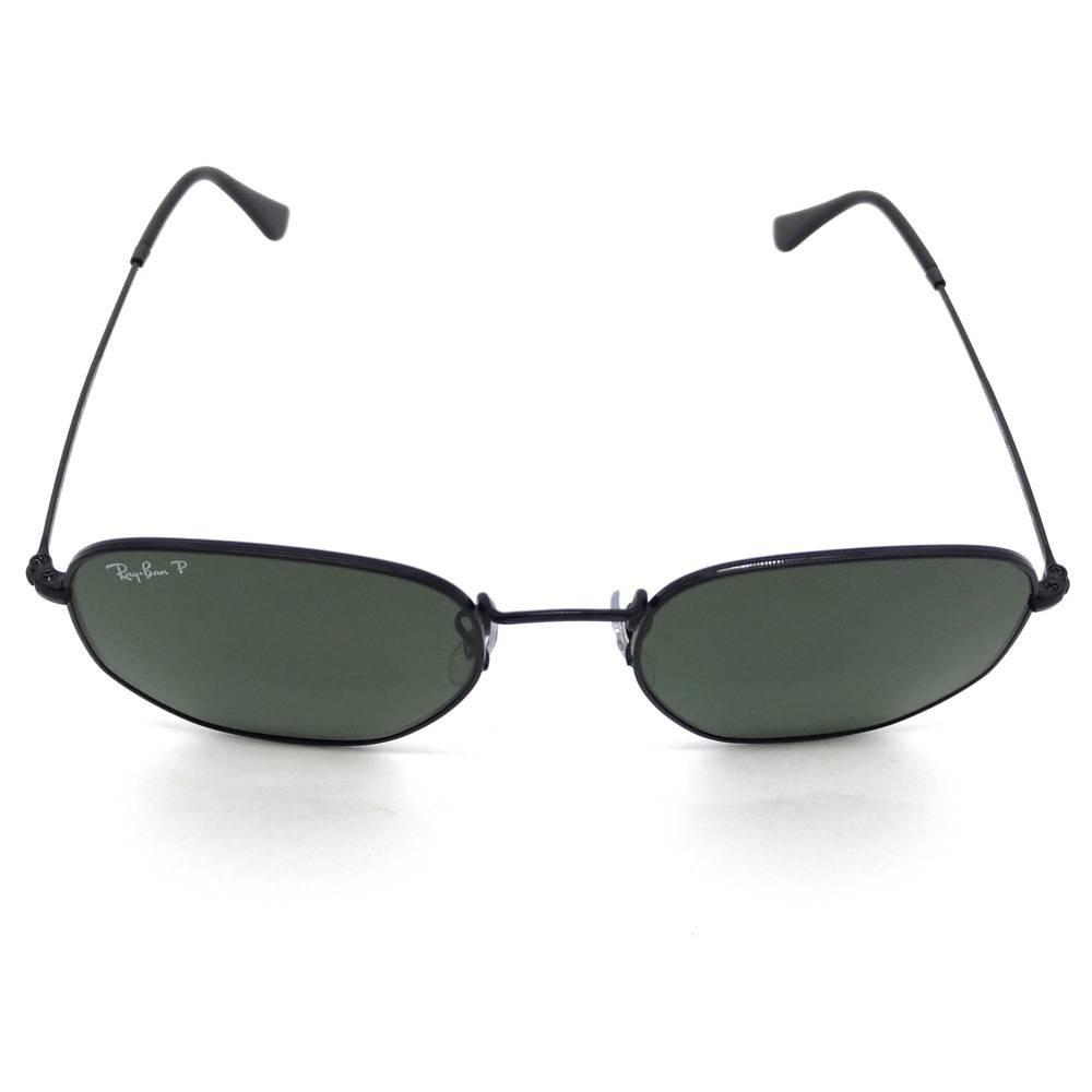 Ray Ban Rb3548n 002 58 Hexagonal Óculos De Sol Tam. 5,4 Cm - R  349 ... 923f84a7c9