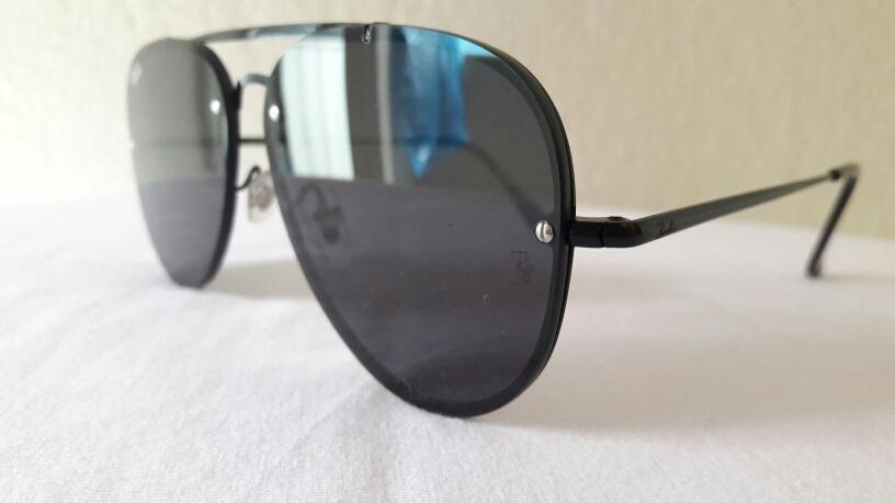 5d96c1eb2c02b Carregando zoom... óculos de sol ray ban blaze aviador black original