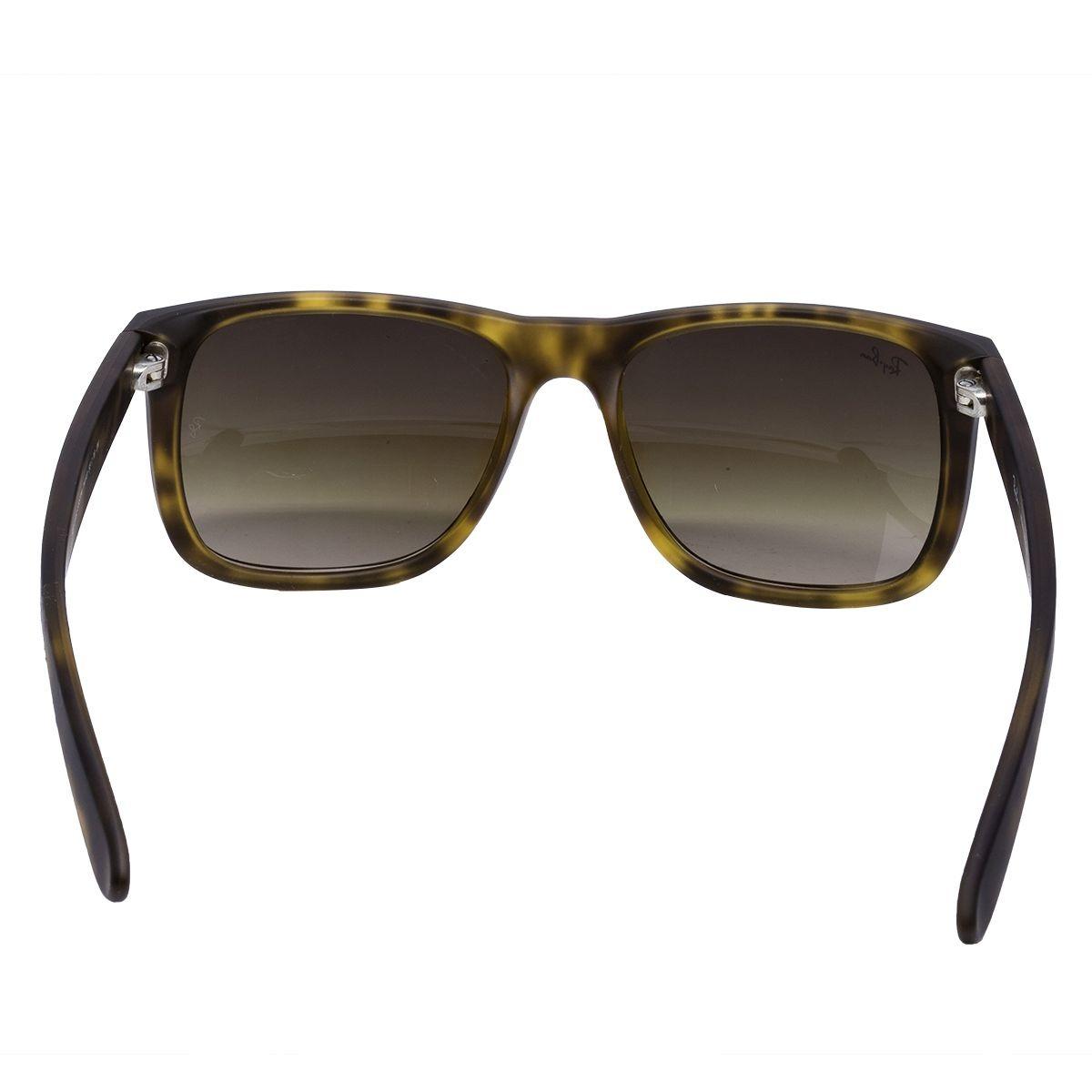 Óculos De Sol Ray Ban Original Justin Rb4165 710 13 - R  484,00 em ... c77cd5fd68
