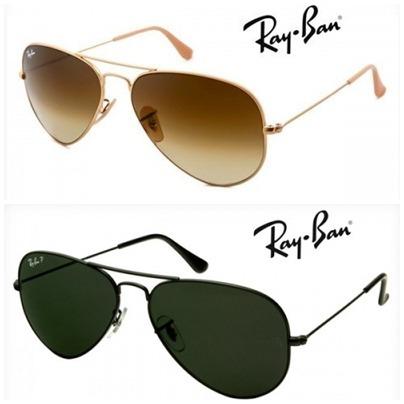 ba377e33dde74 Oculos De Sol Ray Ban Aviador Lente Cristal Atacado Revenda - R  380 ...