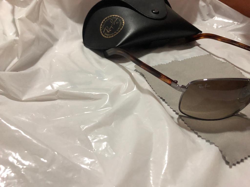 42d0986bb104f Óculos De Sol Ray Ban 3470 - R  300,00 em Mercado Livre