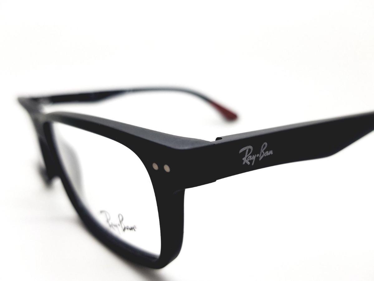 8c346dbdd8 ray ban oftalmico rb5277 2077 acetato negro matte original. Cargando zoom.