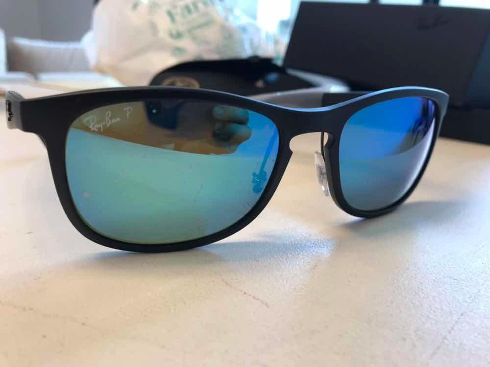 dbc65acef08de Ray Ban Polarizado Rb 4263 Chromance Negro Azul Mirror -   6.300,00 ...