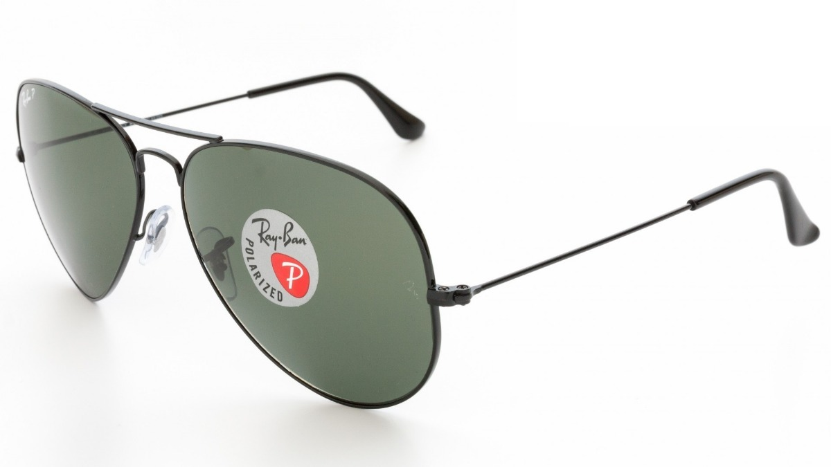 e3b2960c02426 ray ban polarizado rb3025 002 58 58 aviador preto medio 3025. Carregando  zoom.