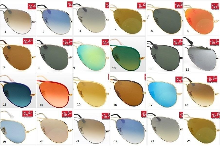 58e431ec1ac8e ray ban rayban aviador várias cores. compre 1 ganhe 1. Carregando zoom.