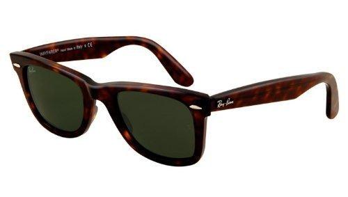 611edd3373 Ray-ban Rb 2140 902 50mm Wayfarer Havana   Green Lens -   280.353 en ...