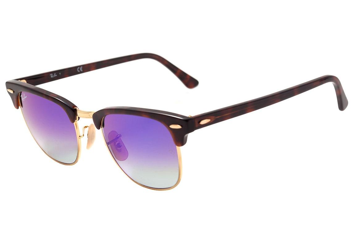 ray ban rb 3016 clubmaster - óculos de sol 990 7q - lente. Carregando zoom. e88bbdd3ed