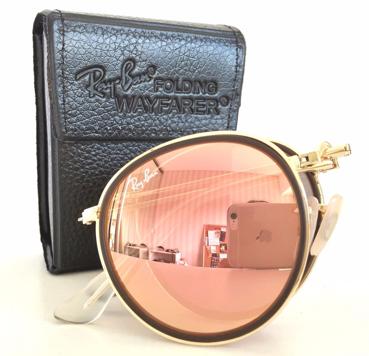 Ray Ban Rb 3517 Round Metal Folding Rb 3447 Lennon Sol Gafas ...