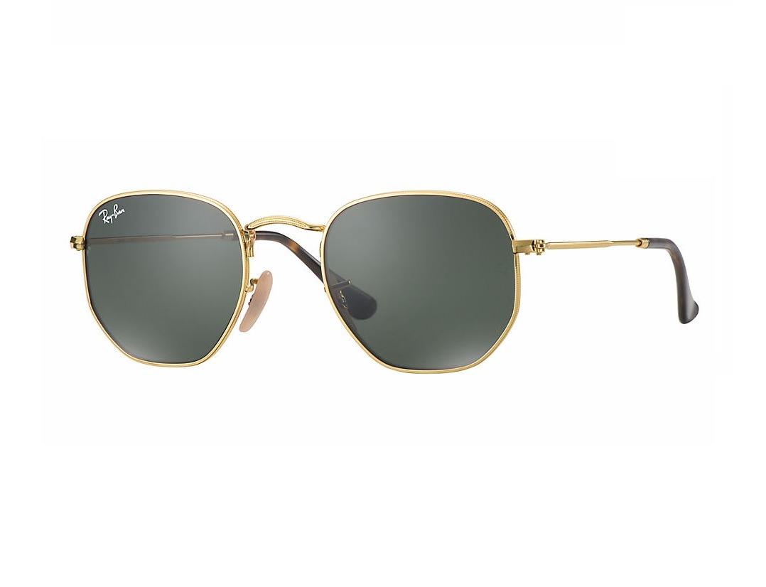 67a9b37db Ray Ban Rb 3548nl 001 Hexagonal Óculos De Sol Tam. 5,1cm - R$ 270,00 ...