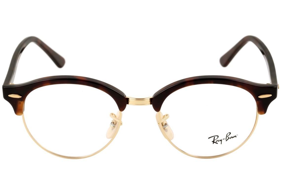 8e526f163 ray ban rb 4246 v clubround - óculos de grau 2372 - lente. Carregando zoom.