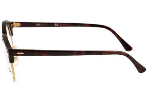 a8c62cb30 Ray Ban Rb 4246 V Clubround - Óculos De Grau 2372 - Lente - R$ 329 ...