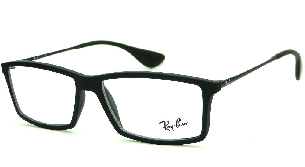 ce061846c ray ban rb 7021 5364 armação para óculos de grau masculina. Carregando zoom.