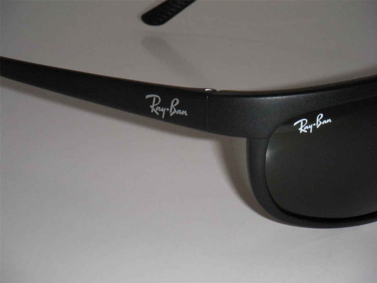 6316db95f7 ray ban rb2027 w1847 predator 2 negro mate g15 original icon. Cargando zoom.