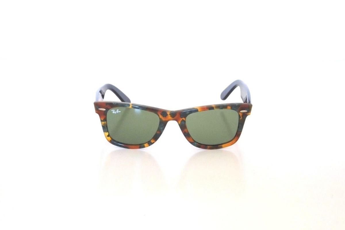 c8e0eddce Ray Ban Rb2140 1159/4e 50mm Wayfarer Verde - $ 1,099.00 en Mercado Libre