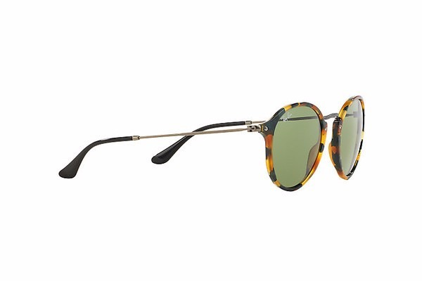 90c5d68fe60 Ray Ban Rb2447 11594e Round Fleck Verde Clasico !!!! -   2