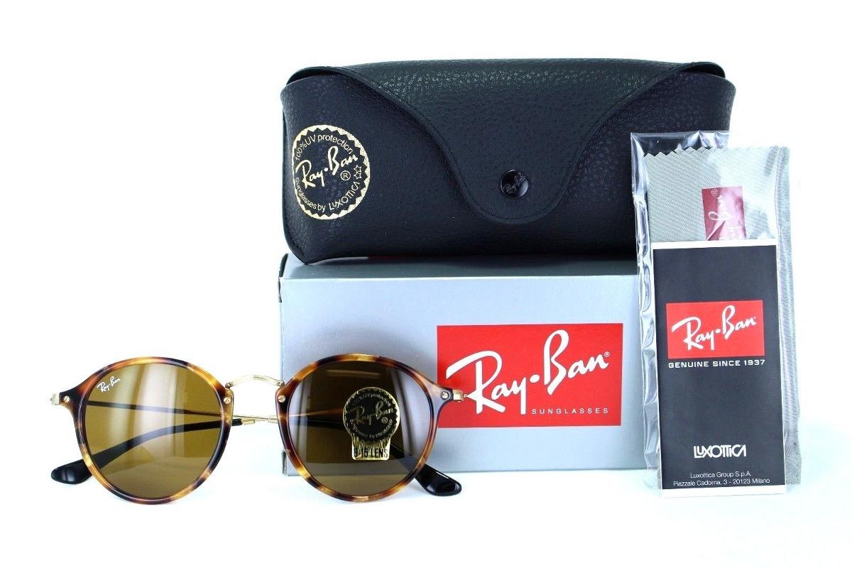 c175c0b216 Ray Ban Rb2447 1160 Round Fleck Cafe B-15 Carey Icon - $ 899.99 en ...