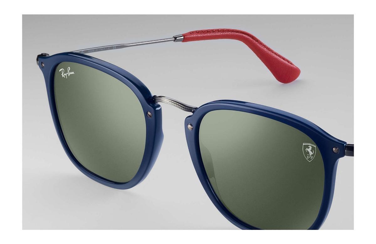 b1698b17fad ray ban rb2448nm f60631 scuderia ferrari collection azul g15. Cargando zoom.