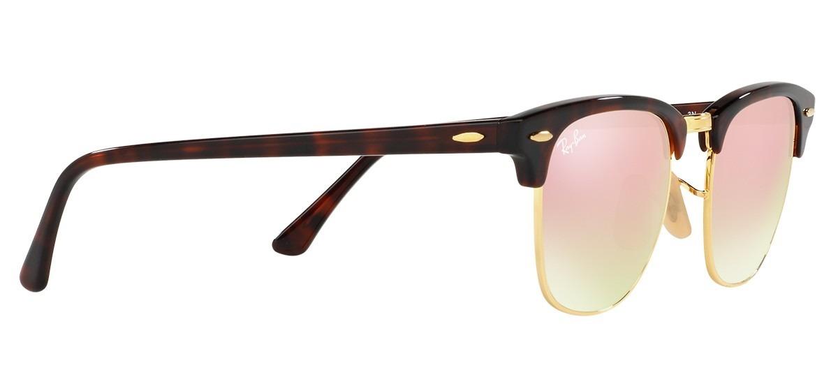 673c604f4 ray-ban rb3016 clubmaster tartaruga rosa espelhado original. Carregando  zoom.