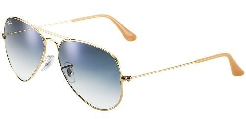 ray ban aviator azul gradiente