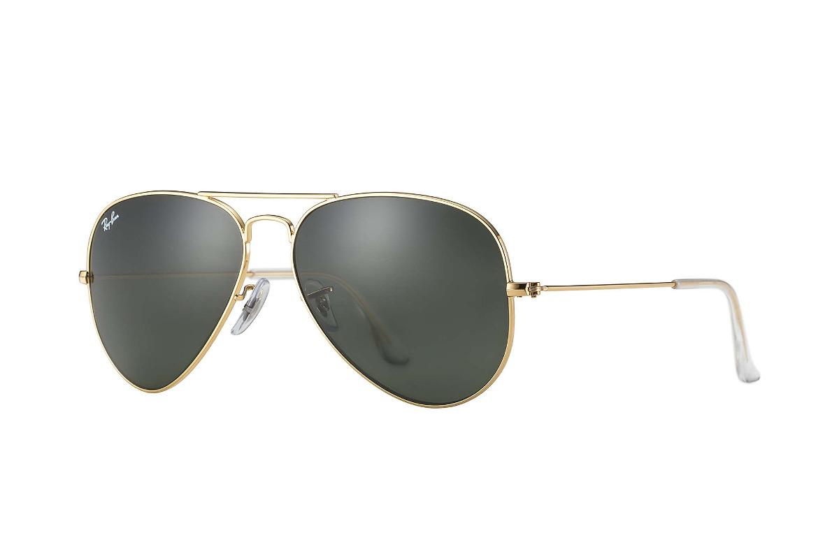 884098f03ed61 ... new zealand ray ban rb3026 l2846 aviator negro dorado gota grande g 15. cargando  zoom ...