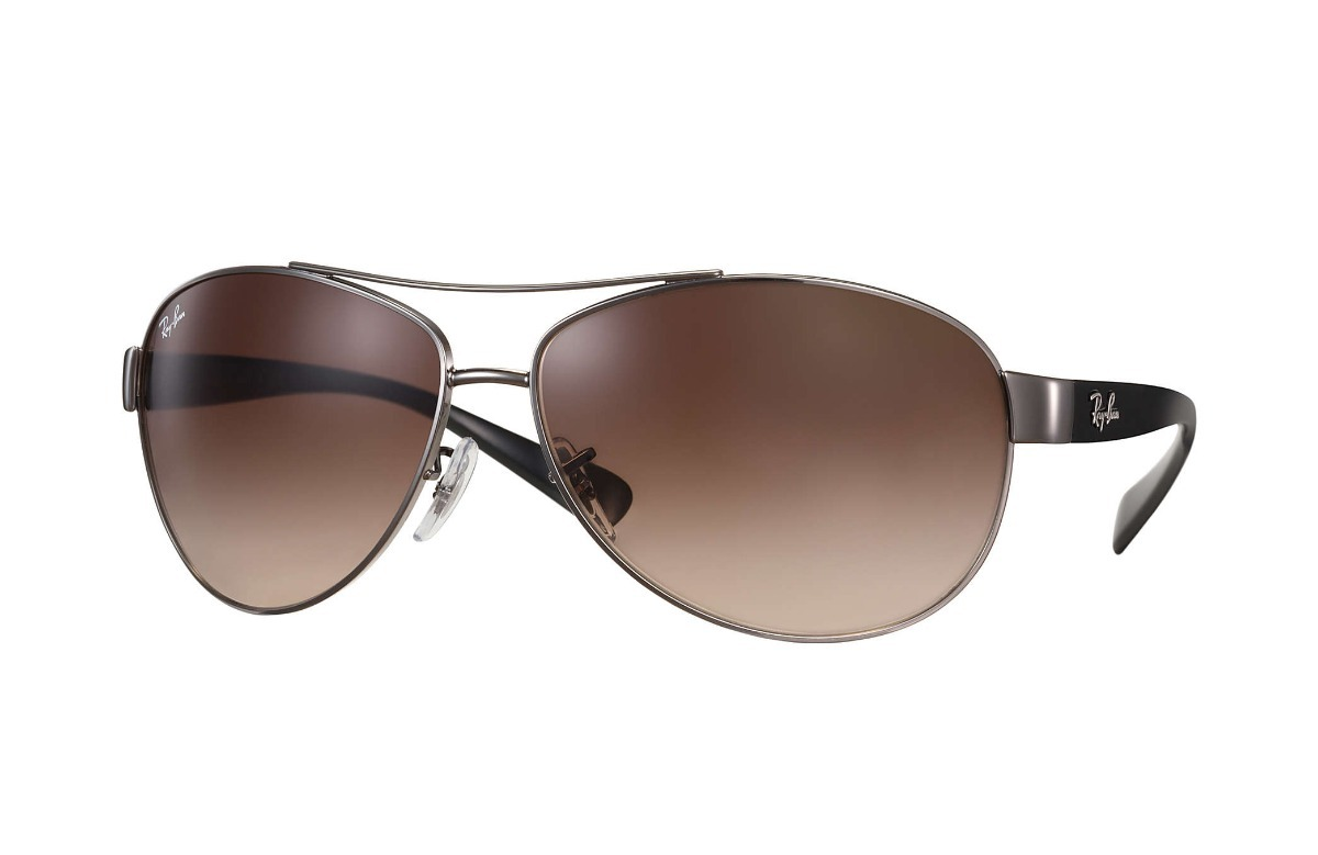 bbd0c120e4 Ray Ban Rb3386 004/13 Aviator Active Lifestyle Gunmetal Cafe ...