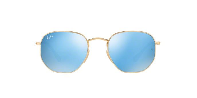 Ray-ban Rb3548nl 001 9o Ouro Lente Azul Espelhada Tam 51 - R  499,90 ... 5faf63ba06