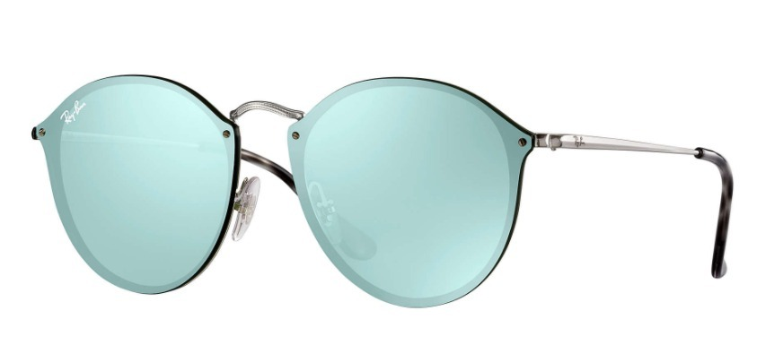 103e1ed3b Ray Ban Rb3574 Blaze Round Collection 2017 Original - R$ 299,00 em ...