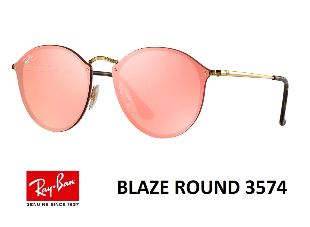 165bb34ae84d5 ray ban rb3574 blaze round collection 2018 original +brinde. Carregando zoom .