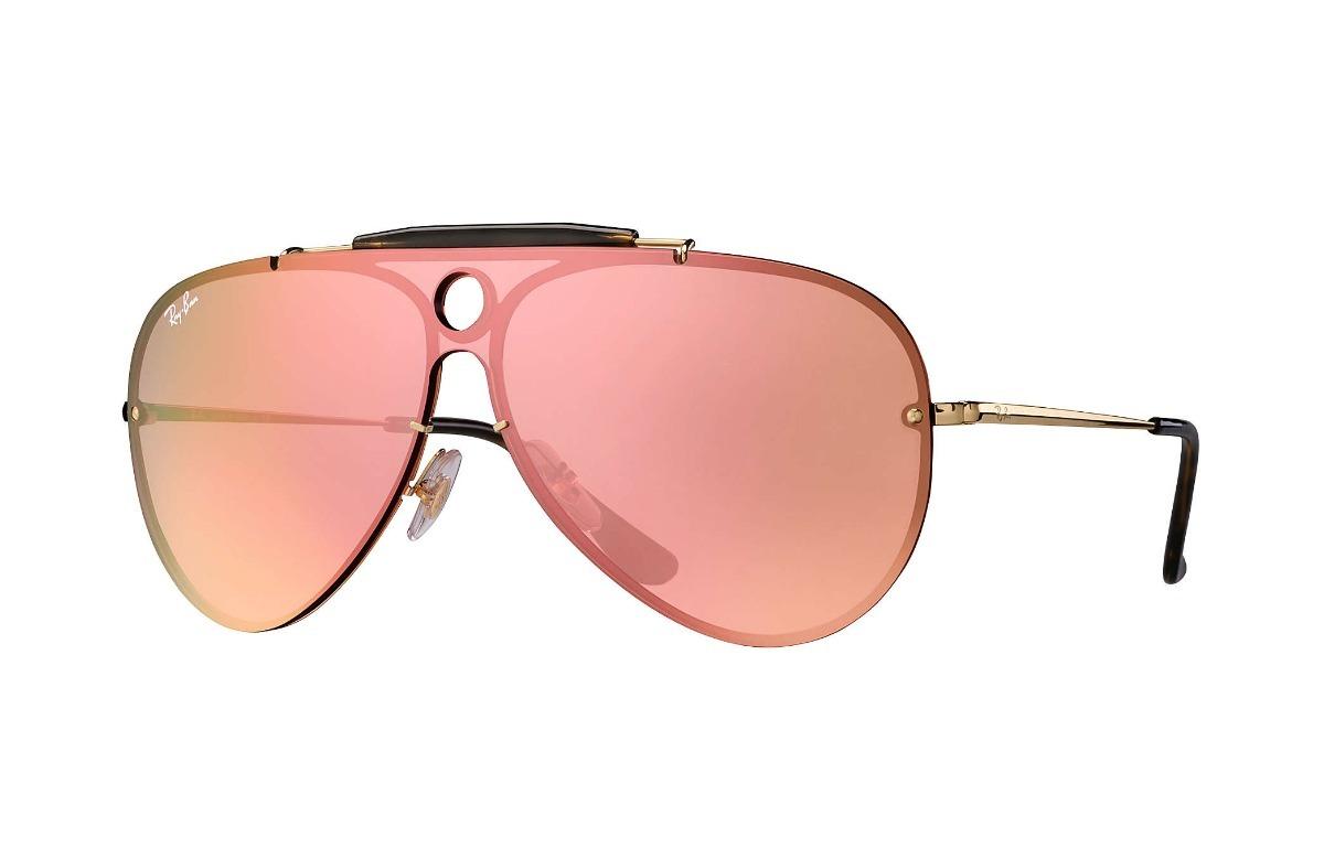 4fb2515e44c15 ray ban rb3581n 001 e4 aviator shooter blaze rosa espejo. Cargando zoom.