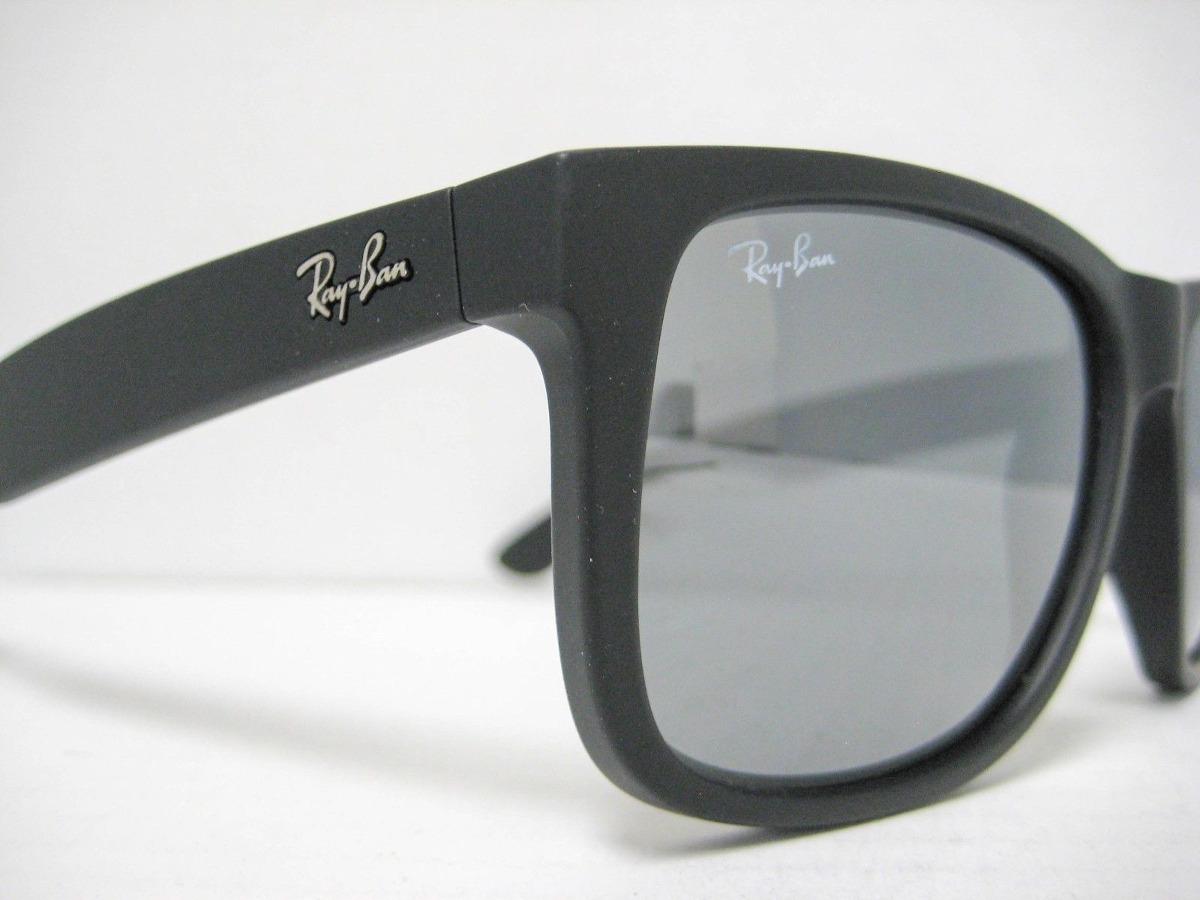 ray ban rb4165 622 6g justin plata espejo negro original. Cargando zoom. ecf34edee7