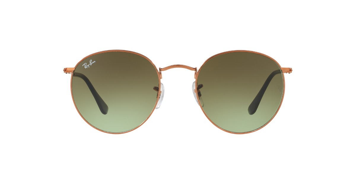 0c7d3bf7a Ray Ban Roud Metal 447 9002a6 50 Bronce Verde Degrade - $ 7.226,89 ...