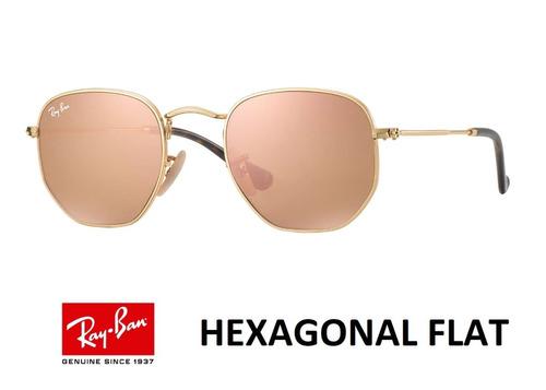 Ray Ban Round Hexagonal 3548 Original Grande 54 + Brinde - R  389,49 em  Mercado Livre c5acb024bb