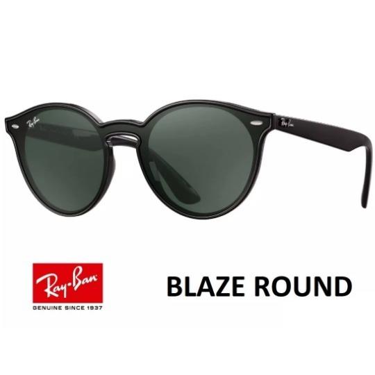 3e2bdf8dde784 Ray Ban Round Highstreet Blaze Rb4380 Redondo Lançamento - R  320,00 ...