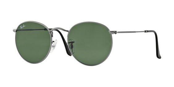 3a54b3aad485d ... metal cinza fosco clássico l3 · óculos sol ray ban round · ray ban  round óculos sol