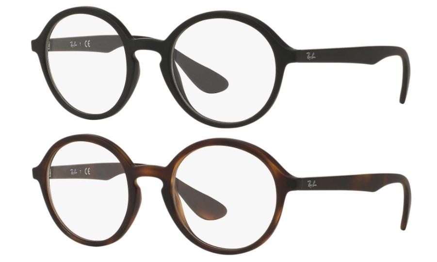 Ray Ban Round Rb7075 Marco Recetado Optico Made In Italy - $ 2.164 ...