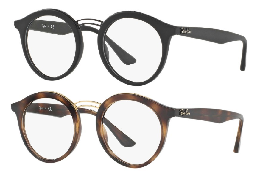 Ray Ban Round Shape 7110 Optico Originales Made In Italy - $ 2.164 ...