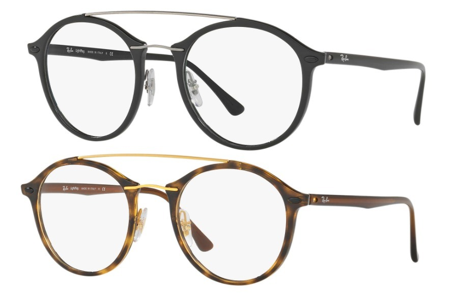 Ray Ban Round Shape 7111 Optico Originales Made In Italy - $ 2.164 ...