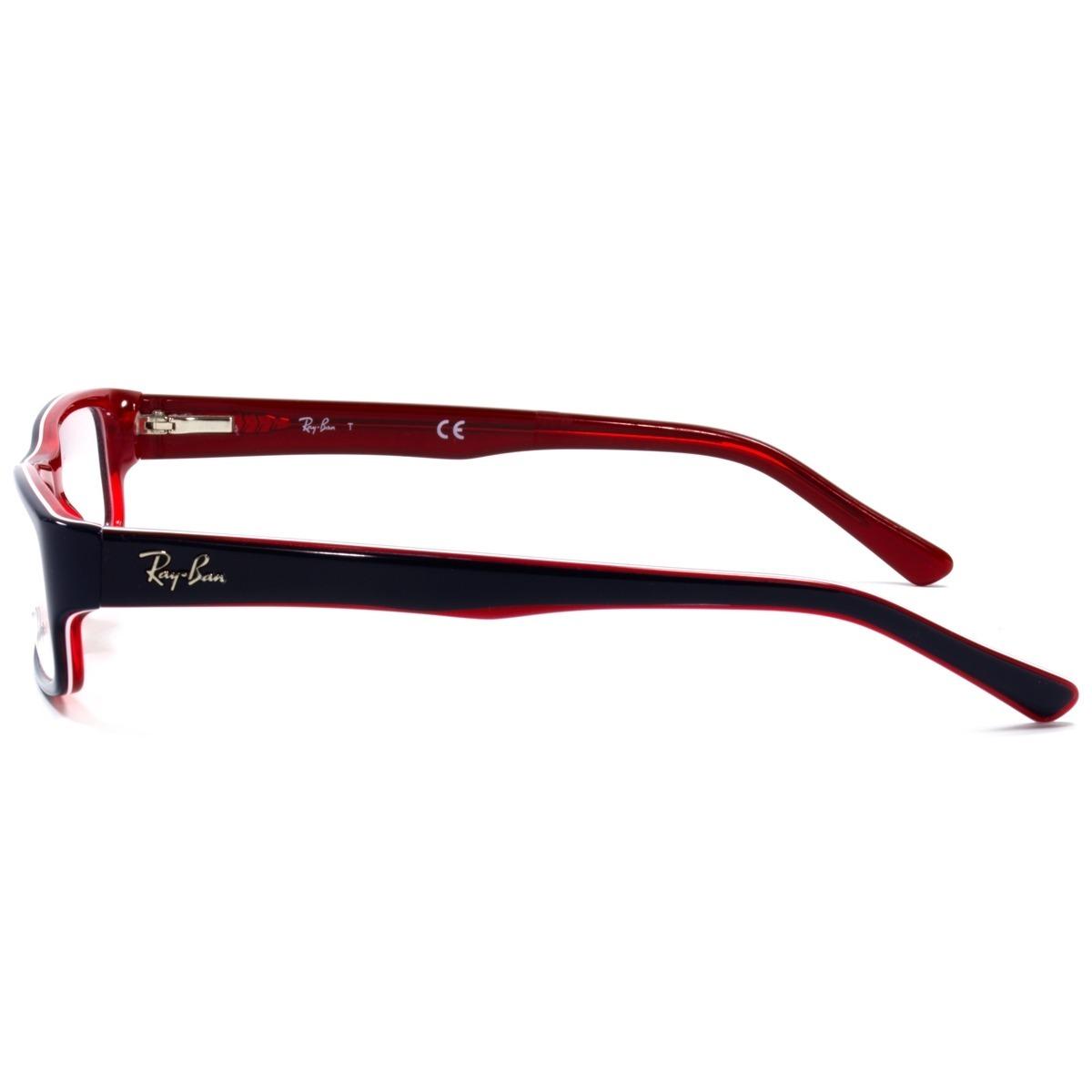 e8360cbb87a53 ray-ban rx5246 5088 52 - óculos de grau ref 364. Carregando zoom.