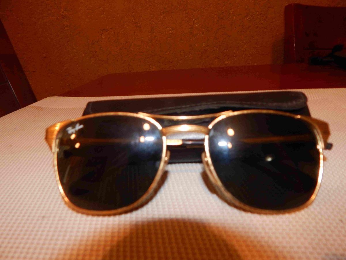 c8c57b1fd146 ray ban signet gold originales con baño de oro. Cargando zoom.
